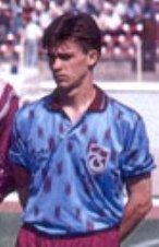 Juriy Shelepnitskiy in Trabzonspor, 1993.