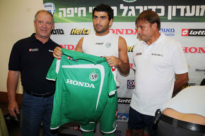 Vladimir Dvalishvili on presentation in Maccabi Haifa